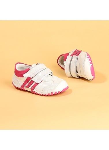 Kiko Kids Kiko Kids Teo 138 %100 Deri Orto pedik Cırtlı Kız Çocuk Ayakkabı Renkli